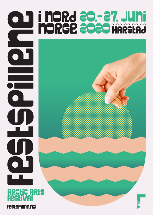 Festspillene i Nord-Norge 2020.Design: Hörður Kristbjörnsson