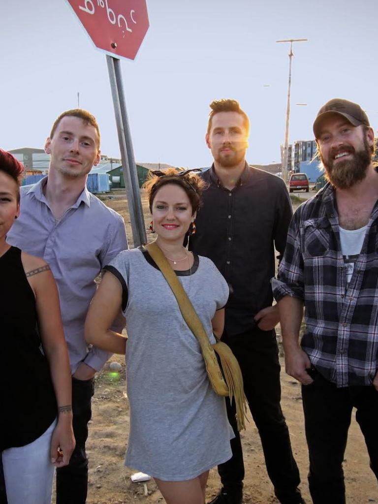 The Jerry Cans fra Iqaluit, Nunavut i Canada spiller på Festspillene i Nord-Norge 2017