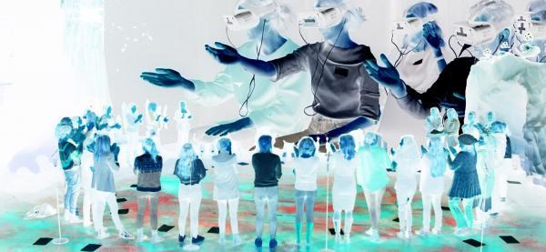 AI Party i Speilsalen på Harstad kulturhus under Festspillene i Nord-Norge 2019.