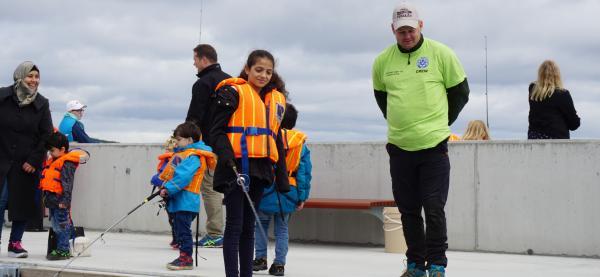 Harstad jeger- og fiskeforening arrangerer Fiskesommer for store og små på Kulturhuskaia under Festspillene i Nord-Norge 2019