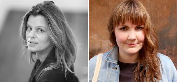 Caroline Kaspara Palonen er bokaktuell med romanen Mascarasøvn, Ingvild Solstad-Nøis med romanen Eid.