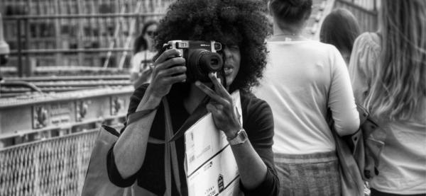 Fotounivers lærer unge om mobilfoto under Festspillene i Nord-Norge 2021 Foto: Patty Thorbergsen