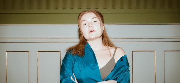 Lisa Skoglund spiller på  Festspillene i Nord-Norge 2021. Foto: Sverre Simonsen