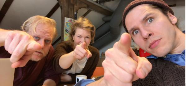 Instruktører for ASSORTERT! fra Teaterterminalen er regissør og skuespiller Haakon M. A Smestad fra Trondheim, manusforfatter Mari Andreassen fra Tromsø og skuespiller Harald O. Nødtvedt fra Bergen.