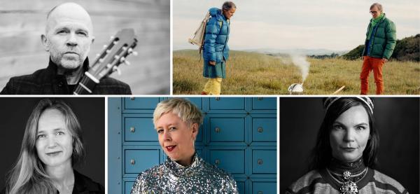 Talentakademiet presenterer en rekke workshoper med anerkjente kunstnere under årets Festspill. Foto: collage