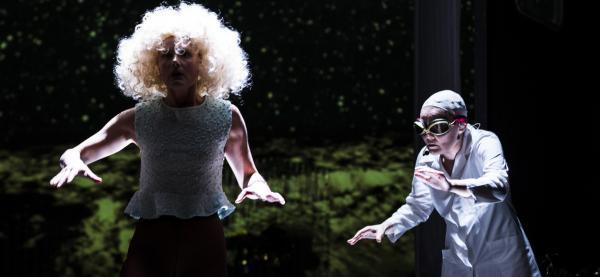 The Road is Just a Surface av Anja Garbarek/Jo Strømgren kompani presenteres på Festspillene i Nord-Norge 2019. Foto Bjørn Opsahl