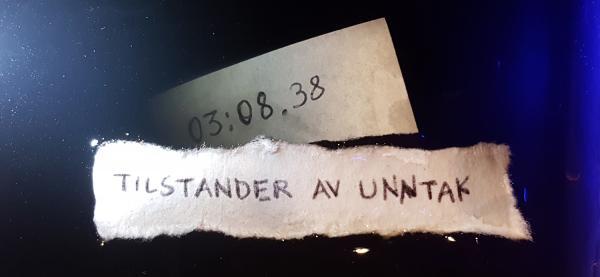 Tilstander av unntak har urpremiere på Festspillene i Nord-Norge 2019.