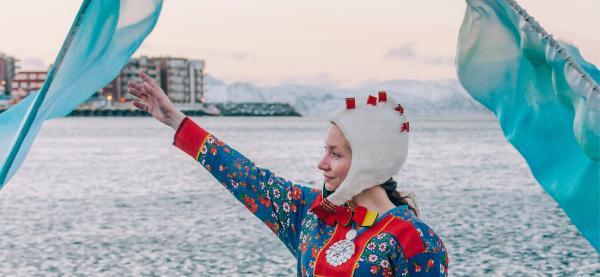 Undervannsjenta har premiere på Festspillene i Nord-Norge 2021. Foto: Alexander Browne