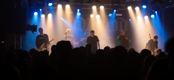 KLISH og Ondt Blod på Støperiet under Festspillene i Nord-Norge 2021. Foto: Patty Thorbergsen