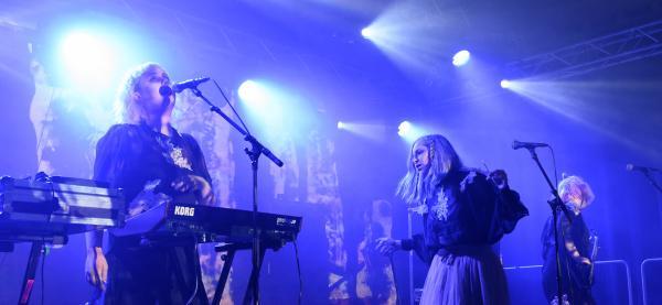 Kælan Mikla, Festspillene i Nord-Norge 2019. Foto: Kristin Rønning