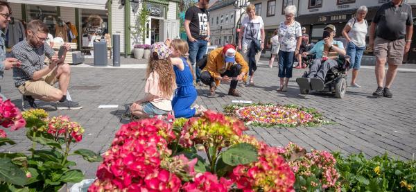 Åpning av NO NO fest 2020 på torget i Harstad sentrum. Foto: Renate Jensen