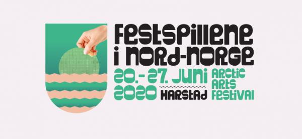Festspillene i Nord-Norge 2020. Design: Hörður Kristbjörnsson