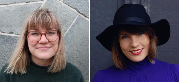 Eirin Lindtner Storesund og Elisabeth Jansen er ansatt som produsenter. Foto: Marie Staggat