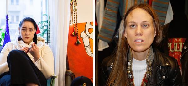 TImimie Märak skal være festspillprofil og Carola Grahn kuraterer årets festspillutstilling. Foto: Tim Boddy / collage
