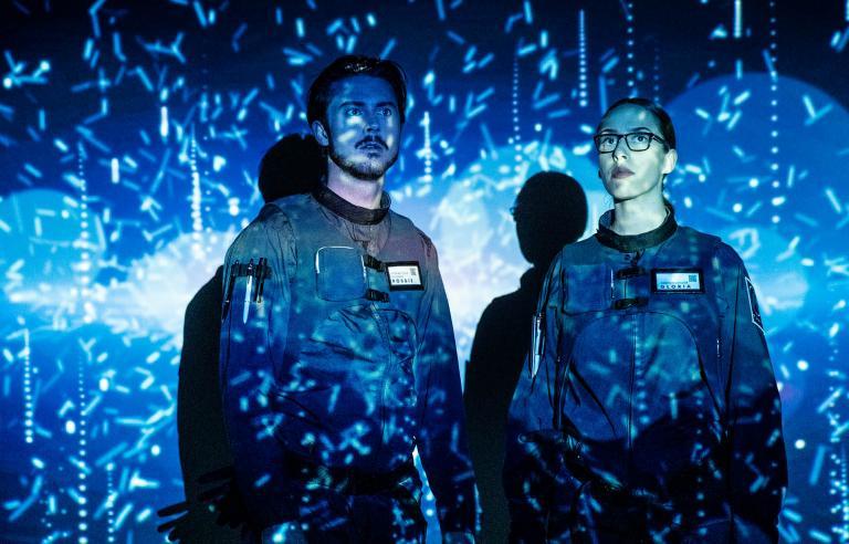AI partiet presenteres på Festspillene i Nord-Norge 2021. Foto: Malmø Stadsteater, First Kiss Production og Bombina Bombast