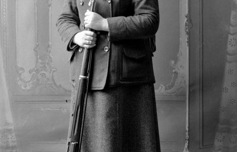 Anna Berheussen er en av flere kvinner med en sentral posisjon i Harstads historie. Foto: Sør-Troms museum