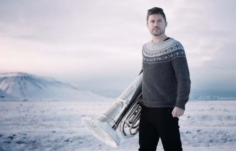 Daniel Herskedal spiller på Festspillklubben Torvet 3 under Festspillene i Nord-Norge 2019