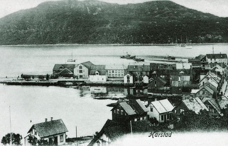 Byvandring i Harstad med Sør-Troms museum