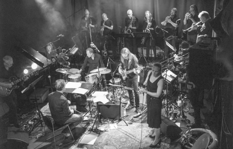 Ensemble Denada spiller på Harstad kino under Festspillene i Nord-Norge 2019.