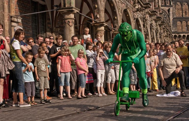 Greenman kommer til Harstad under Festspillene i Nord-Norge 2019