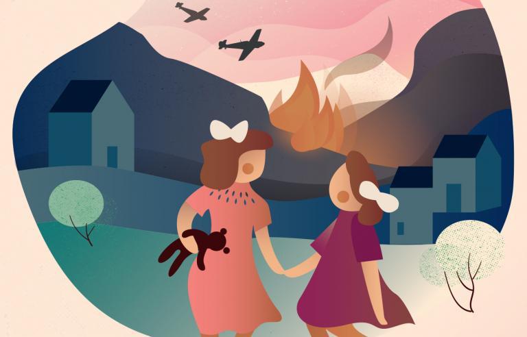 Hålogaland Teaters dramatiseringen av barneboksuksessen Sofie og Katrine har urpremiere på Festspillene i Nord-Norge 2019.