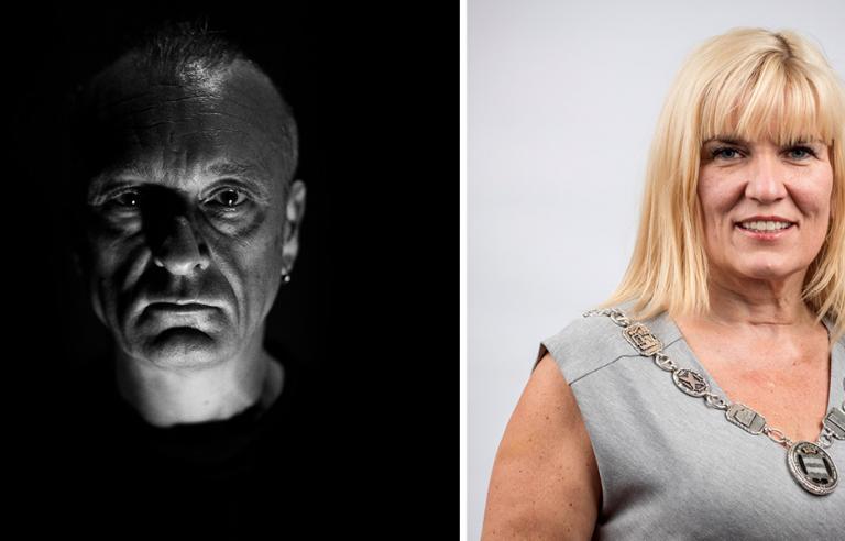 INNAFØRR? Jørn Stubberud og Kari Anne Opsal