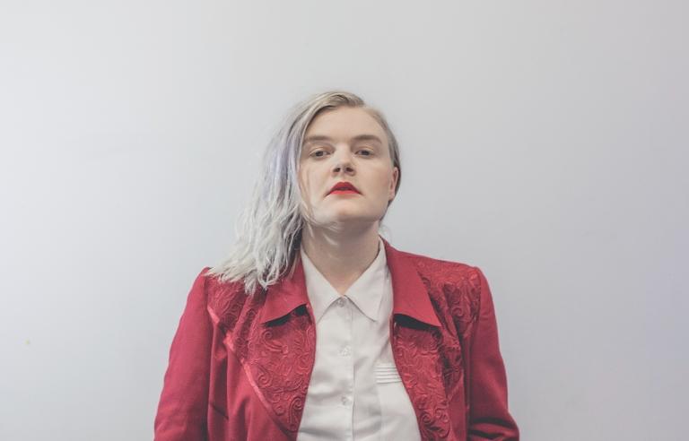 Lisa Skoglund spiller på Karma under Festspillene i Nord-Norge 2018. Foto: Silja Lomakka