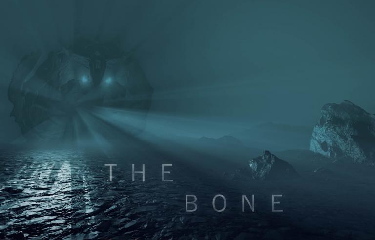 VR-opplevelsen The Bone av Michelle-Marie Leteliér presenteres under Festspillene i Nord-Norge 2021. Foto: Michelle-Marie Leteliér