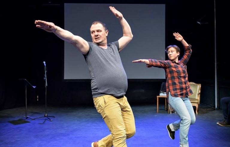 Dance for me presenteres på Festspillene i Nord-Norge 2018. Foto: Arne Hauge